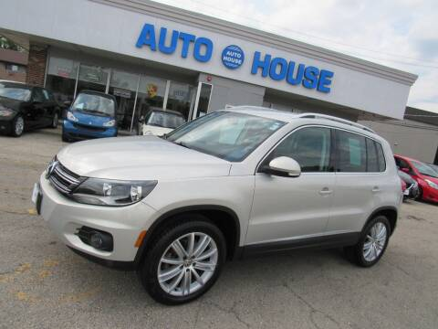2012 Volkswagen Tiguan for sale at Auto House Motors in Downers Grove IL