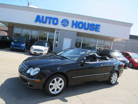 2004 Mercedes-Benz CLK for sale at Auto House Motors in Downers Grove IL