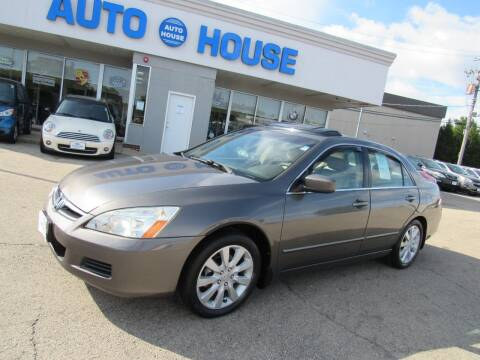 2006 Honda Accord for sale at Auto House Motors in Downers Grove IL
