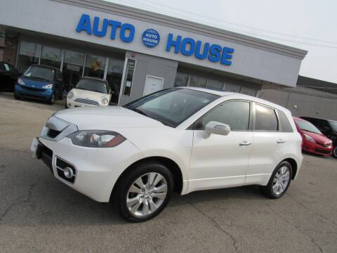 2010 Acura RDX for sale at Auto House Motors in Downers Grove IL