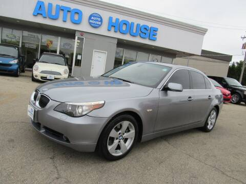 2007 BMW 5 Series for sale at Auto House Motors in Downers Grove IL