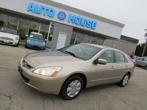 2004 Honda Accord for sale at Auto House Motors in Downers Grove IL