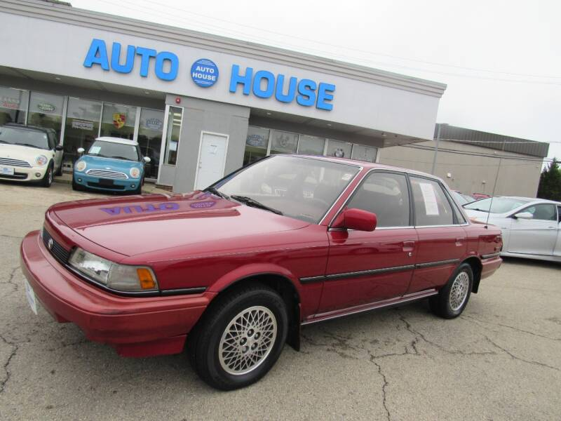1990 Toyota Camry for sale at Auto House Motors in Downers Grove IL