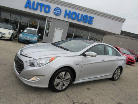2015 Hyundai Sonata Hybrid for sale at Auto House Motors in Downers Grove IL