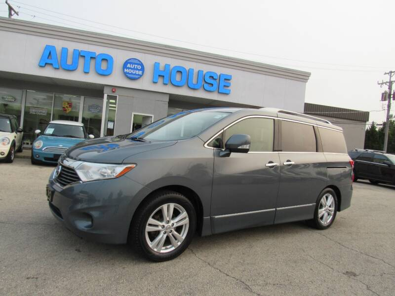 2012 Nissan Quest for sale at Auto House Motors in Downers Grove IL