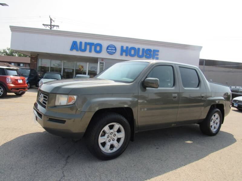 2007 Honda Ridgeline for sale at Auto House Motors in Downers Grove IL