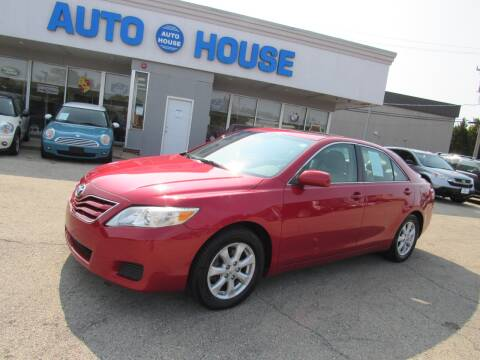 2010 Toyota Camry for sale at Auto House Motors in Downers Grove IL
