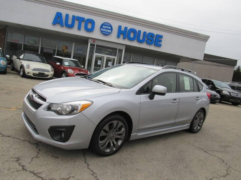 2013 Subaru Impreza for sale at Auto House Motors in Downers Grove IL