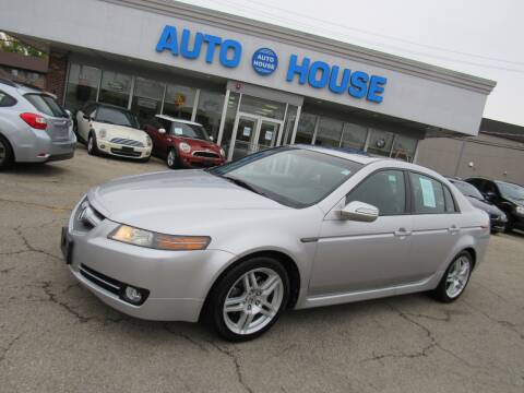 2008 Acura TL for sale at Auto House Motors in Downers Grove IL