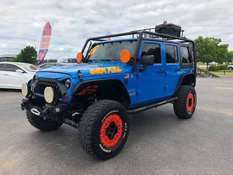 2011 Jeep Wrangler Unlimited for sale at Bagwell Motors Springdale in Springdale AR