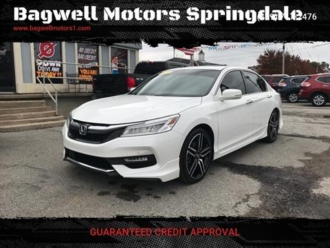 2017 Honda Accord for sale in Springdale, AR