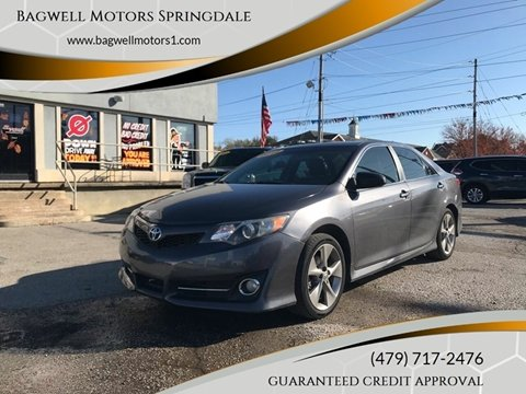 2012 Toyota Camry for sale in Springdale, AR