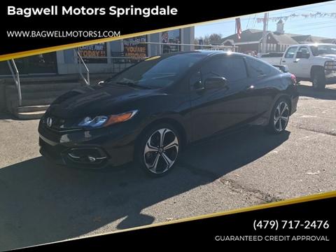 2015 Honda Civic for sale in Springdale, AR
