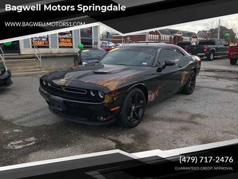 2016 Dodge Challenger for sale in Springdale, AR