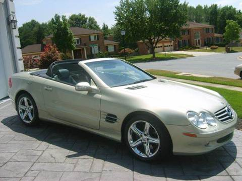 2003 Mercedes-Benz SL-Class for sale at The Nella Collection in Fort Washington MD