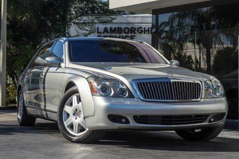2008 Maybach 62 for sale in Miramar, FL