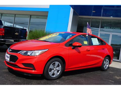 2017 Chevrolet Cruze for sale in Plymouth MA