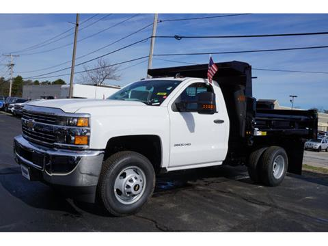 2017 Chevrolet Silverado 3500HD CC for sale in Plymouth MA