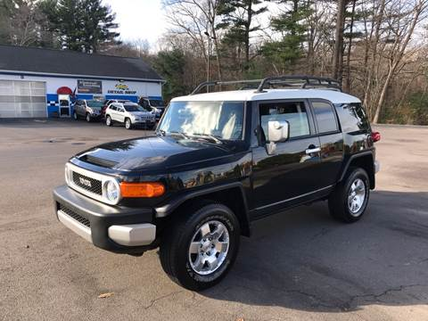 2007 Toyota FJ Cruiser for sale at Best Buy Automotive in Attleboro MA