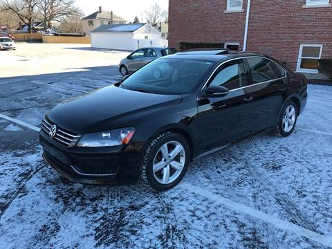 2012 Volkswagen Passat for sale at Best Buy Automotive in Attleboro MA