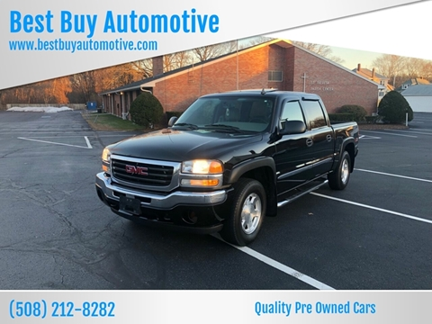 2006 GMC Sierra 1500 for sale at Best Buy Automotive in Attleboro MA
