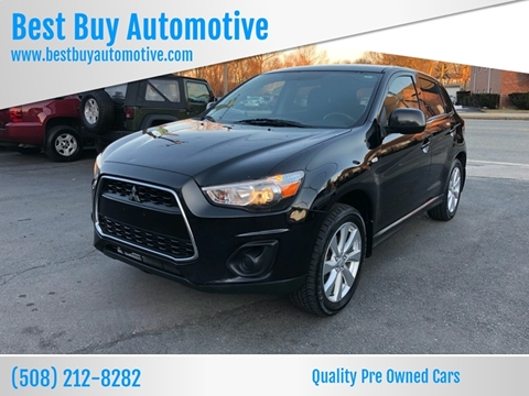 2013 Mitsubishi Outlander Sport for sale at Best Buy Automotive in Attleboro MA