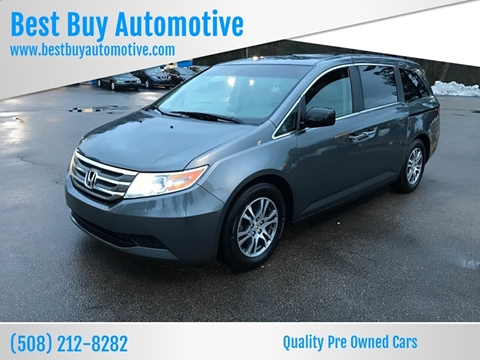 2012 Honda Odyssey for sale at Best Buy Automotive in Attleboro MA