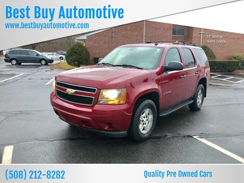 2007 Chevrolet Tahoe for sale at Best Buy Automotive in Attleboro MA