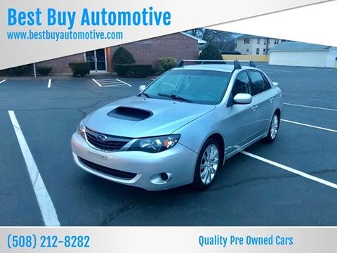2008 Subaru Impreza for sale at Best Buy Automotive in Attleboro MA