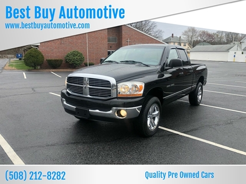 2006 Dodge Ram Pickup 1500 for sale at Best Buy Automotive in Attleboro MA