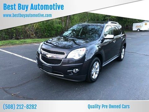 2013 Chevrolet Equinox for sale at Best Buy Automotive in Attleboro MA