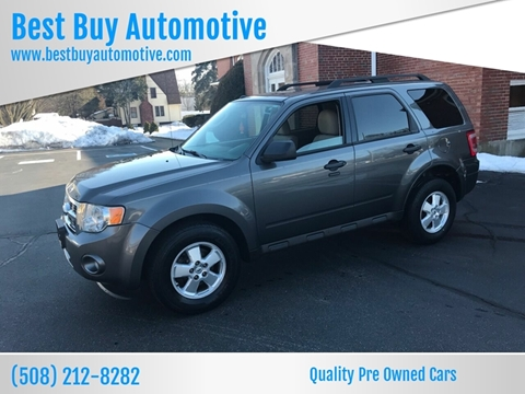 2011 Ford Escape for sale at Best Buy Automotive in Attleboro MA
