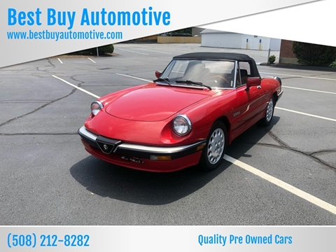 1986 Alfa Romeo Spider for sale in Attleboro, MA