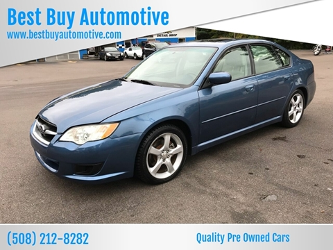 2009 Subaru Legacy for sale at Best Buy Automotive in Attleboro MA