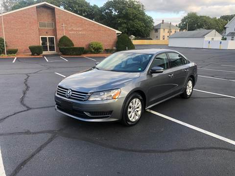 2014 Volkswagen Passat for sale at Best Buy Automotive in Attleboro MA