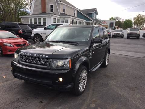 2010 Land Rover Range Rover Sport for sale at Best Buy Automotive in Attleboro MA
