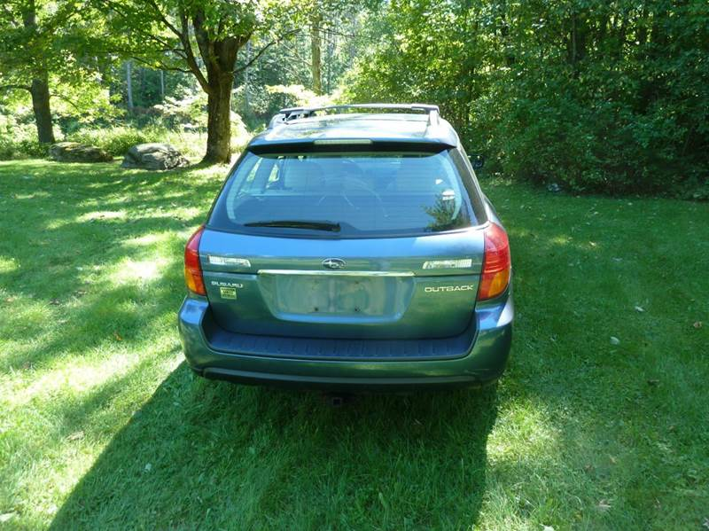 2006 Subaru Outback AWD 2.5i Limited 4dr Wagon (2.5L H4 4A) - Morrisville VT