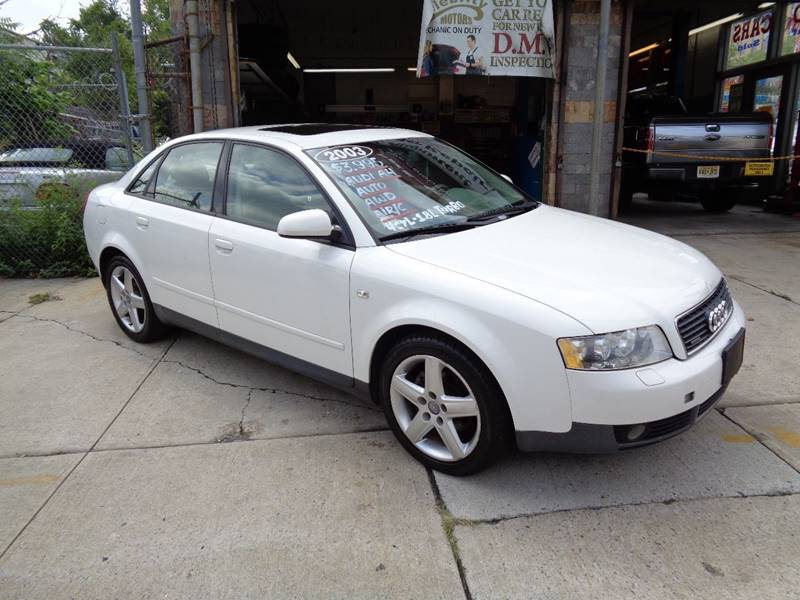 2003 Audi A4 Awd 18t Quattro 4dr Sedan In Newark Nj Celebrity Motors