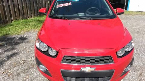 2012 Chevrolet Sonic for sale in Saint Augustine, FL