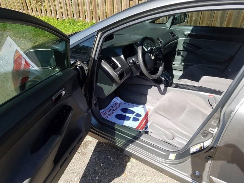 2007 Honda Civic LX 4dr Sedan (1.8L I4 5A) - Saint Augustine FL