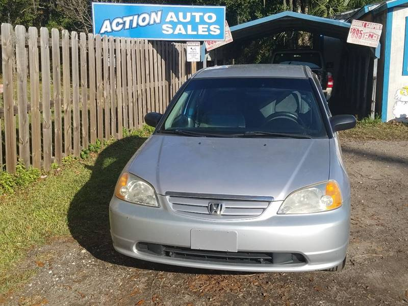 2002 Honda Civic LX 4dr Sedan - Saint Augustine FL