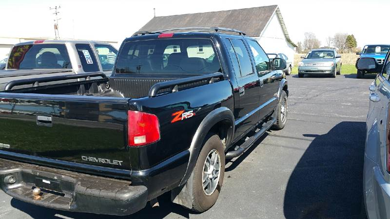 2003 Chevrolet S-10 4dr Crew Cab LS 4WD SB - Bowling Green OH