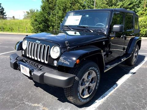2017 Jeep Wrangler Unlimited for sale in Thomson, GA