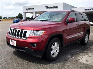 2012 Jeep Grand Cherokee for sale in Thomson, GA