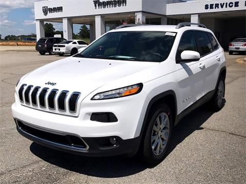 2018 Jeep Cherokee for sale in Thomson, GA