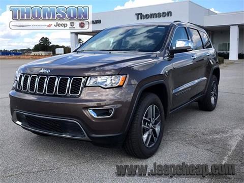 2017 Jeep Grand Cherokee for sale in Thomson, GA