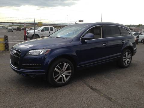 2012 Audi Q7 for sale at Capitol Hill Auto Sales LLC in Denver CO