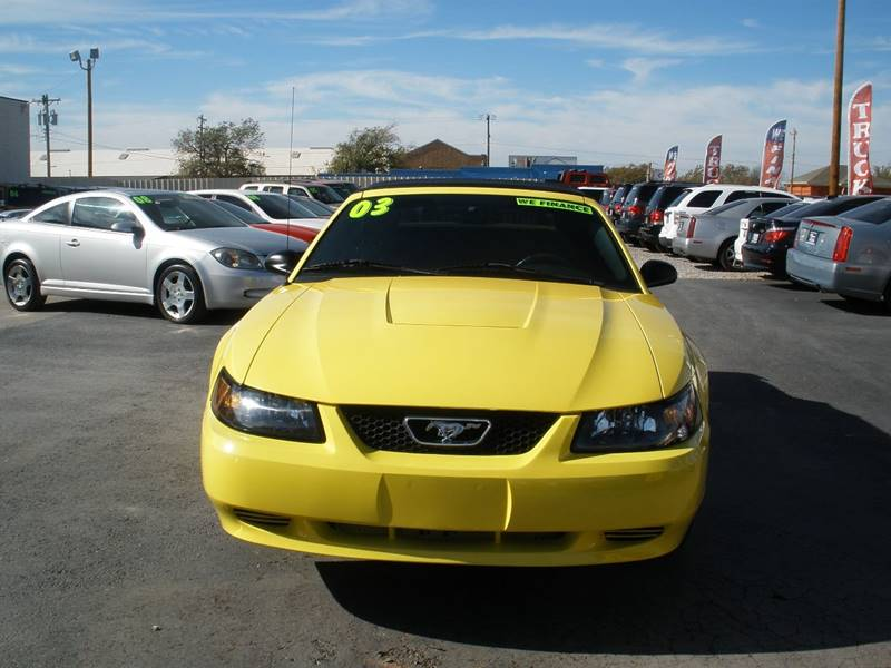 2003 Ford Mustang Deluxe 2dr Convertible - Oklahoma City OK