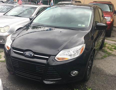 2012 Ford Focus for sale at GARET MOTORS in Maspeth NY