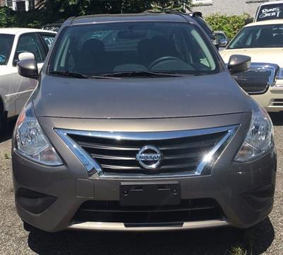 2016 Nissan Versa for sale at GARET MOTORS in Maspeth NY